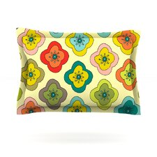 Forest Bloom by Nicole Ketchum Woven Pillow Sham