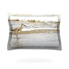 Counting the Waves by Robin Dickinson Woven Pillow Sham