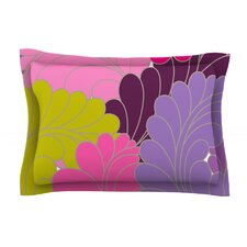 Moroccan Leaves by Nicole Ketchum Cotton Pillow Sham
