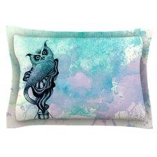 Owl II by Graham Curran Woven Pillow Sham