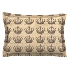 Crowns by Suzanne Carter Cotton Pillow Sham
