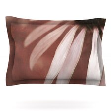 Copper and Pale Pink by Iris Lehnhardt Woven Pillow Sham