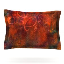 Tie Dye Paisley by Nikki Strange Cotton Pillow Sham