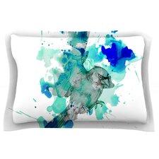 A Cardinal In Blue by Kira Crees Cotton Pillow Sham
