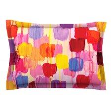 Dotty in Pink by Ebi Emporium Cotton Pillow Sham