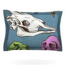 Skulls by Sophy Tuttle Cotton Pillow Sham