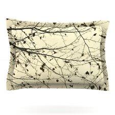 Boughs Neutral by Iris Lehnhardt Cotton Pillow Sham