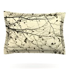 Boughs Neutral by Iris Lehnhardt Woven Pillow Sham