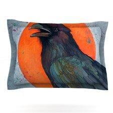 Raven Sun by Lydia Martin Cotton Pillow Sham