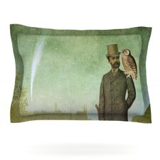 One Starry Night by Suzanne Carter Cotton Pillow Sham