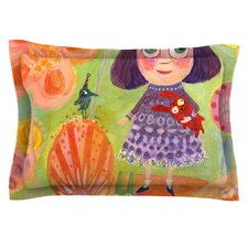 Flowerland by Marianna Tankelevich Cotton Pillow Sham