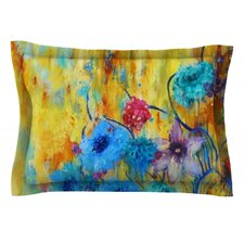 Cosmic Love Garden by Sonal Nathwani Cotton Pillow Sham