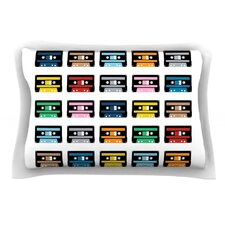 Rainbow Tapes by Project M Cotton Pillow Sham