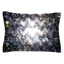 Messier Chevron by Suzanne Carter Cotton Pillow Sham