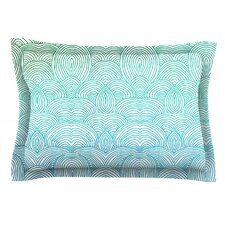 Clouds in the Sky by Pom Graphic Design Cotton Pillow Sham