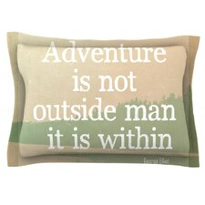 Adventure by Rachel Burbee Cotton Pillow Sham