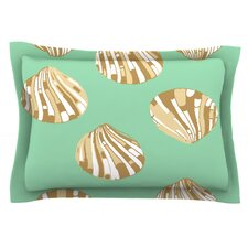 Scallop Shells by Rosie Brown Woven Pillow Sham