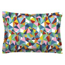 Abstraction by Project M Cotton Pillow Sham