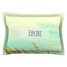 Explore by Robin Dickinson Cotton Pillow Sham