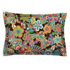 My Butterflies & Flowers by Julia Grifol Cotton Pillow Sham