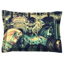 Carousel by Robin Dickinson Cotton Pillow Sham