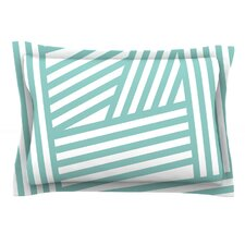 Stripes by Louise Machado Woven Pillow Sham
