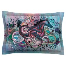 Poetry in Motion by Mat Miller Cotton Pillow Sham