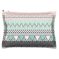 Chevron Motif by Vasare Nar Cotton Pillow Sham