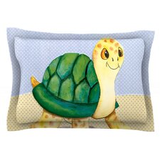 Slow and Steady by Padgett Mason Cotton Pillow Sham