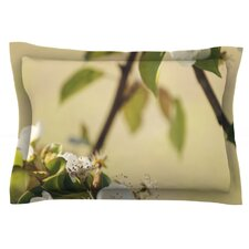 Pear Blossom by Catherine McDonald Woven Pillow Sham