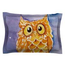 Little Hoot by Padgett Mason Cotton Pillow Sham