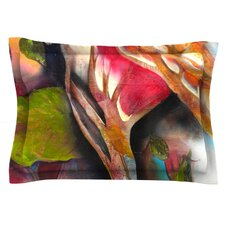 Glimpse by Kristin Humphrey Cotton Pillow Sham