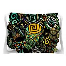 Multicolor Life by Pom Graphic Design Cotton Pillow Sham