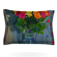 Spring Bouquet by S. Seema Z Cotton Pillow Sham