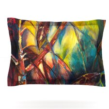 Growth by Kristin Humphrey Cotton Pillow Sham