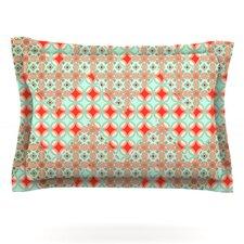 Traveling Caravan by Catherine McDonald Woven Pillow Sham