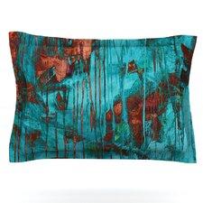 Rusty Teal by Iris Lehnhardt Woven Pillow Sham