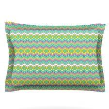 Chevron Love by Nicole Ketchum Woven Pillow Sham