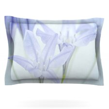 Triplet Lily by Iris Lehnhardt Woven Pillow Sham