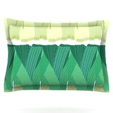 Leeks by Laura Nicholson Woven Pillow Sham