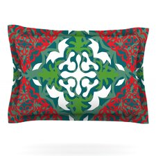 Lace Flakes by Miranda Mol Woven Pillow Sham