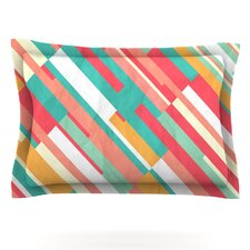 Droplines by Danny Ivan Woven Pillow Sham