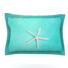 Starfish by Sylvia Cook Woven Pillow Sham