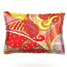 Swirls by Rosie Brown Woven Pillow Sham