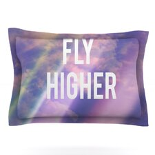 Fly Higher by Rachel Burbee Woven Pillow Sham