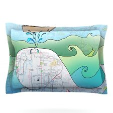 I'm on a Boat by Catherine Holcombe Woven Pillow Sham