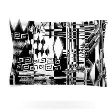 Tropical Buzz by Gabriela Fuente Woven Pillow Sham