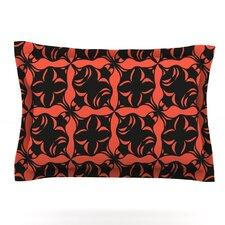 Oval Orange Love by Miranda Mol Woven Pillow Sham