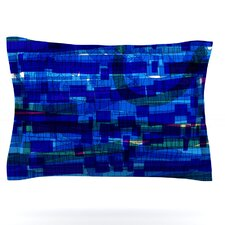 Squares Traffic by Frederic Levy-Hadida Woven Pillow Sham