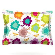 Bee Highway by Nicole Ketchum Woven Pillow Sham